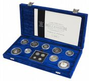 2000 Silver Proof Coin Collection Millennium